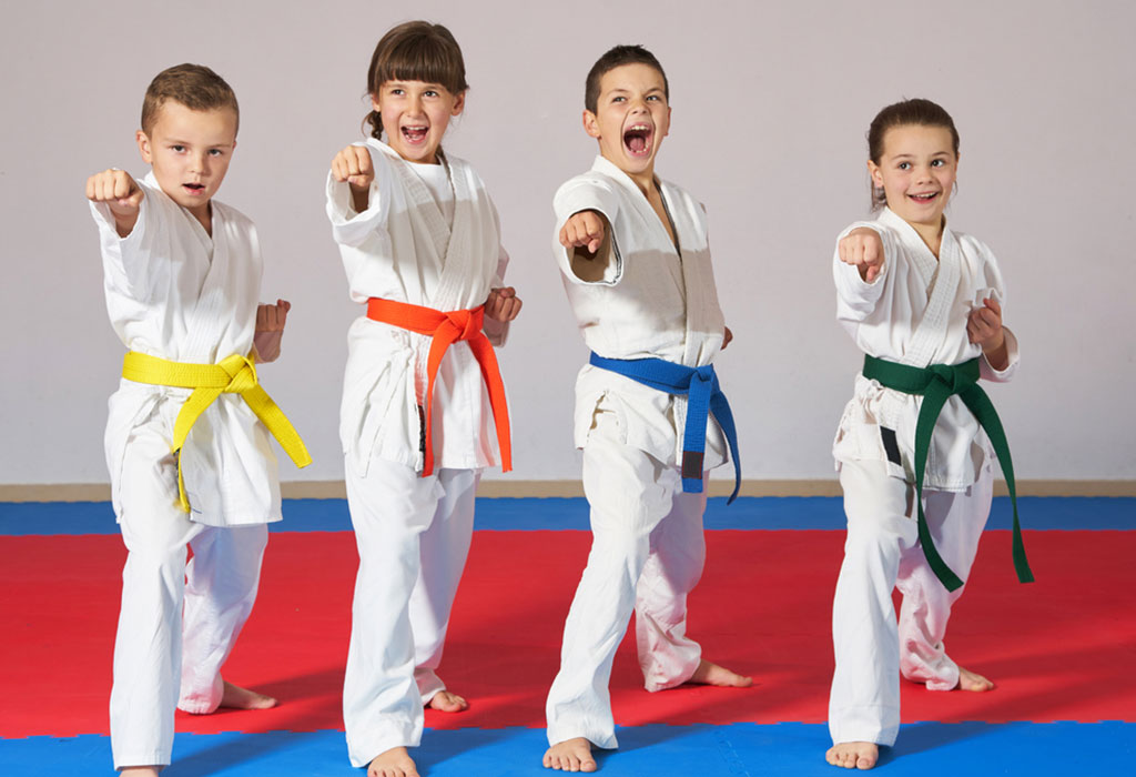 Kids With Martial Arts