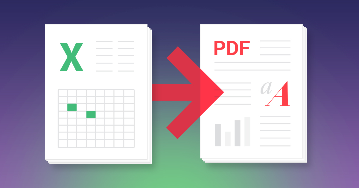 Convert Excel To Pdf